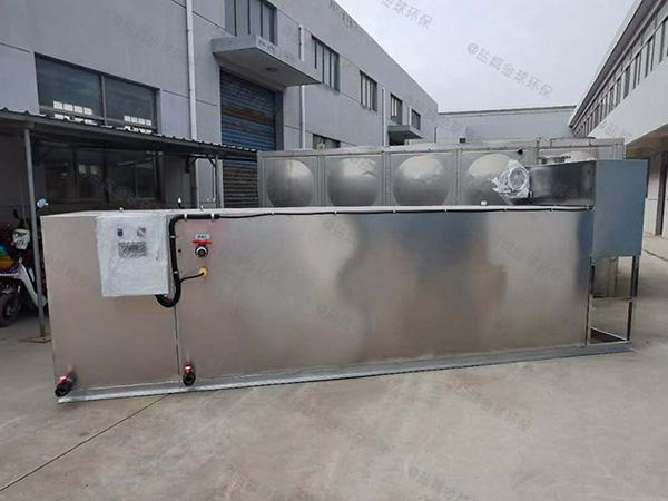 学校地上机械隔油污水提升设备代加工