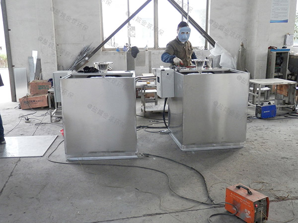 食堂用地上式多功能一体化隔油提升设备厂家价格