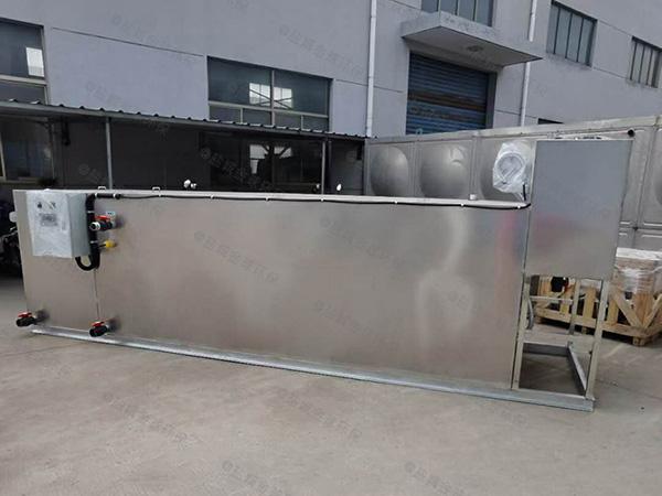 饮食业地下简易一体化隔油提升设备制造商