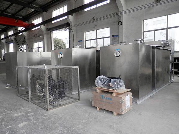 商家地上无动力油水处理设备加工厂