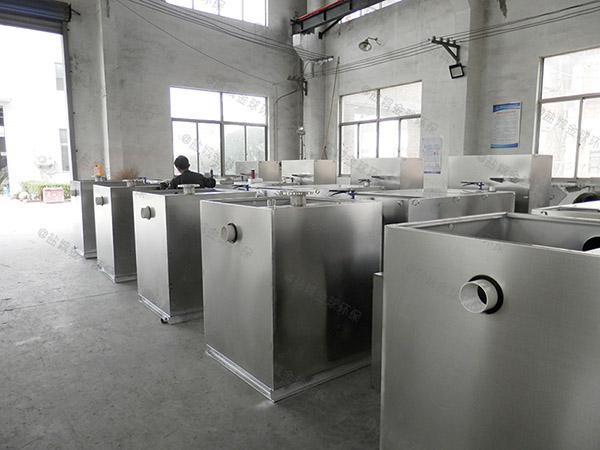食堂用地上简单油水分离净化器批发价格