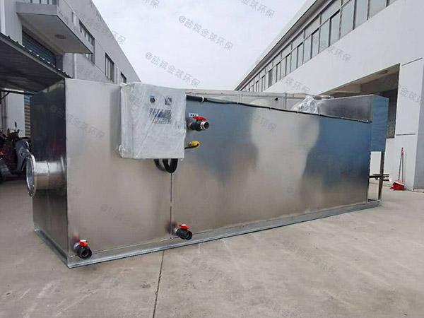 食堂用地下多功能油脂分离设备维护