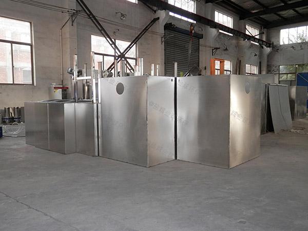 餐饮商户小型混凝土隔油器提升设备适用行业