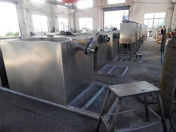 餐饮类500人隔悬浮物隔油提升一体机企业