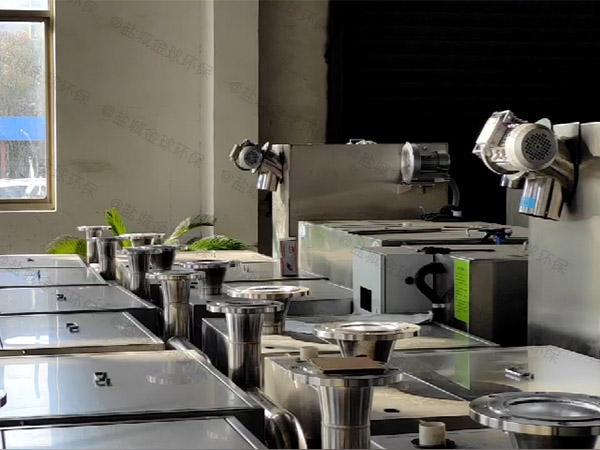 工厂食堂1000人隔油隔渣隔悬浮物隔油提升一体化使用说明书