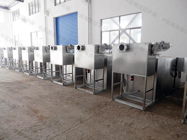 工地食堂1000人隔油隔渣隔悬浮物隔油池设备生产厂商