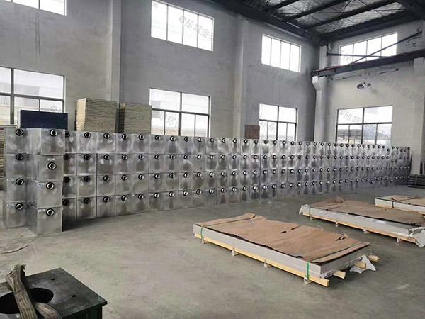 工厂食堂3.1米*1.2米*1.85米隔油隔渣隔悬浮物隔油过滤器使用方法