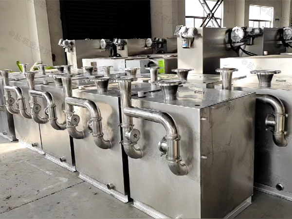 工地食堂2号隔油隔油强排一体化设备使用