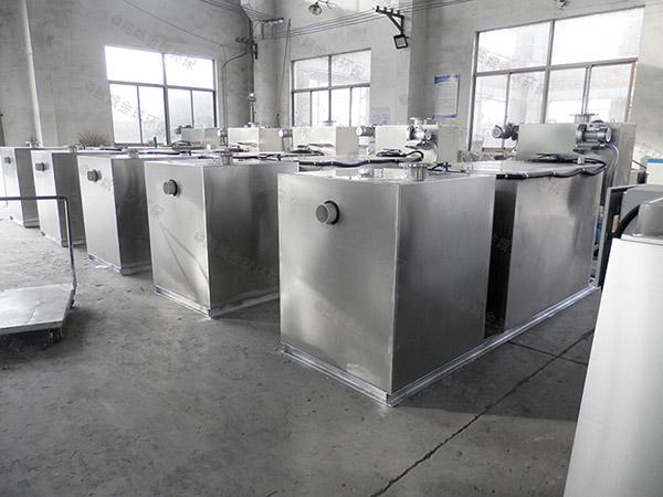 厨用100人隔油隔油除渣一体化设备生产厂商
