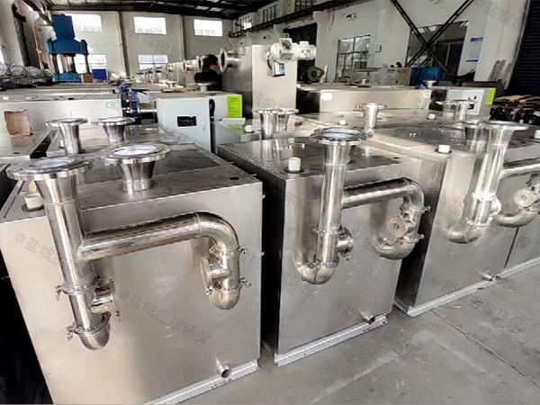 厨用中小型隔悬浮物隔油提升一体化生产商