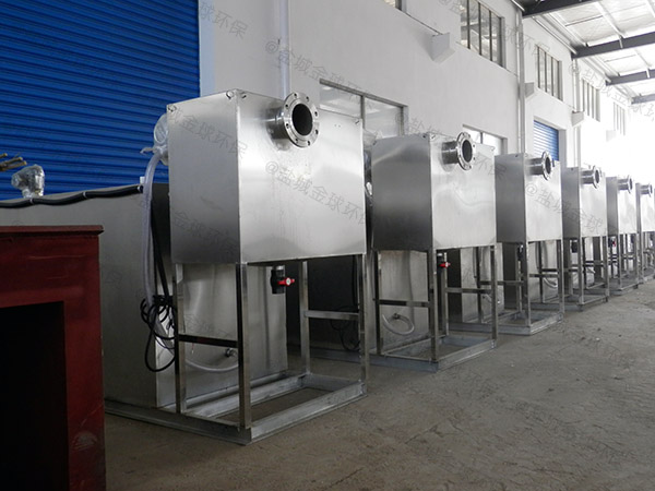 厨用甲型不锈钢隔油提升一体化装置简介