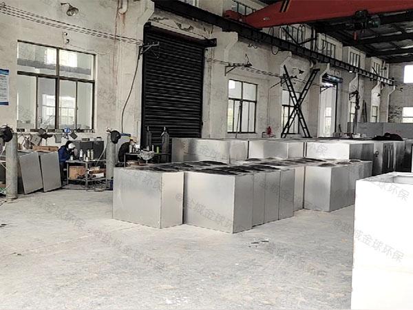 厨下型100人不锈钢隔油除渣一体化设备市场分析