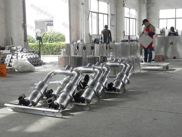 餐饮环保3.1米*1.2米*1.85米隔油隔油池隔油器生产厂