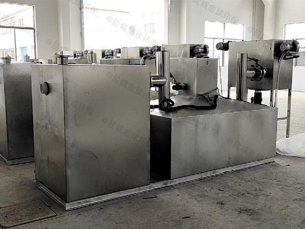 工地1000人不锈钢隔油池隔油器排放标准