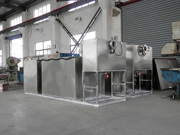 餐饮环保30立方隔油隔渣隔悬浮物隔油过滤器生产厂商