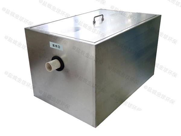 厨用大型隔渣隔油提升一体机设计计算