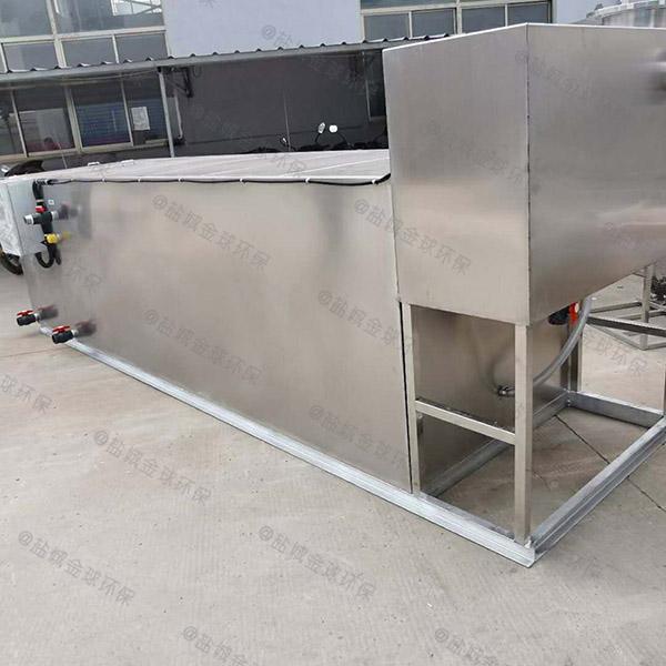 后厨2号不锈钢除渣隔油器简介