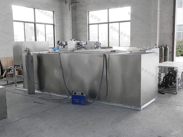 餐饮业2号隔油隔渣隔悬浮物除渣隔油一体机简介