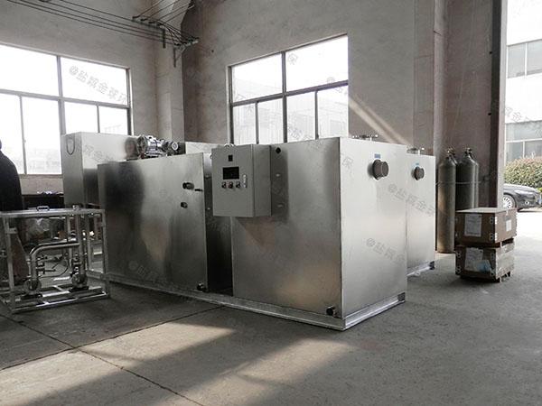 餐饮专用1000人不锈钢隔油隔渣设备生产厂商