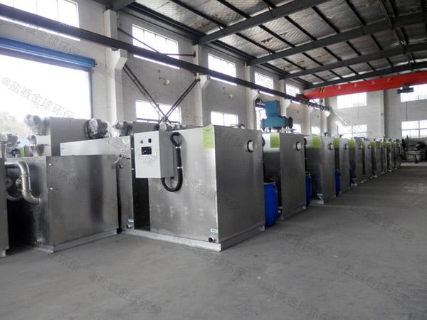 厨余30立方隔油隔油全自动提升设备内部结构