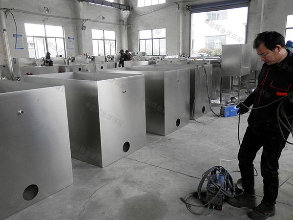 厨用中小型不锈钢隔油过滤设备市场前景