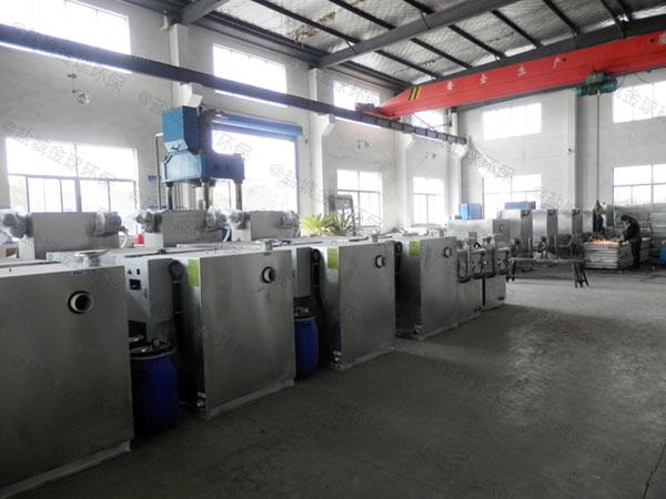 工地食堂8吨的长宽高用砖做隔油器自动提升装置品牌