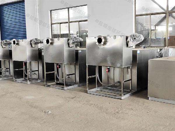 工地30立方不锈钢除味隔油池生产商