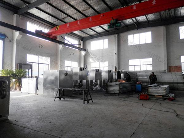 餐饮环保3.5米*1.35米*1.85米隔悬浮物隔油分离器简介