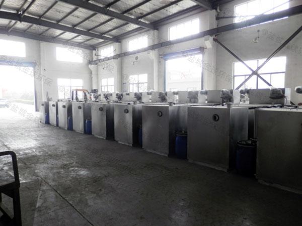 厨房用甲型混凝土隔油处理设备调试方案
