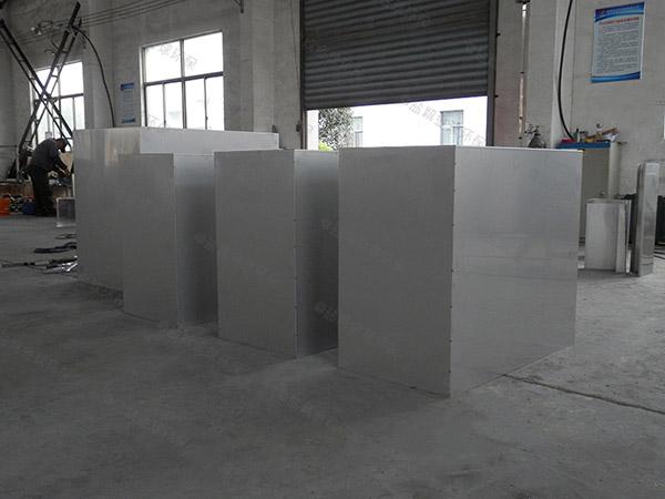 后厨小型混凝土隔油净化设备设计方案