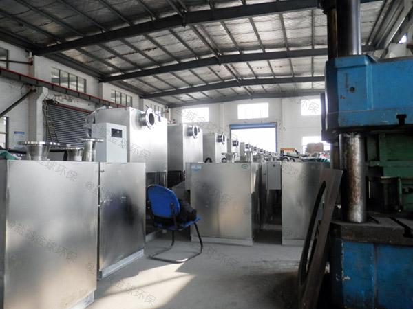 工厂食堂2号隔悬浮物隔油污水提升装置施工工艺