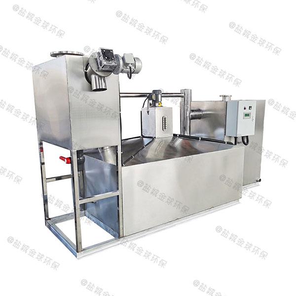 单位食堂3.1米*1.2米*1.85米自动提升油水分离隔油池实体厂家
