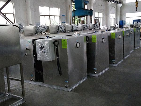购物中心8吨的长宽高组合式一体化油水分离装置放水教程