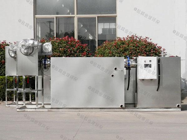 工厂食堂8吨的长宽高智能型油水分离处理机安装规范