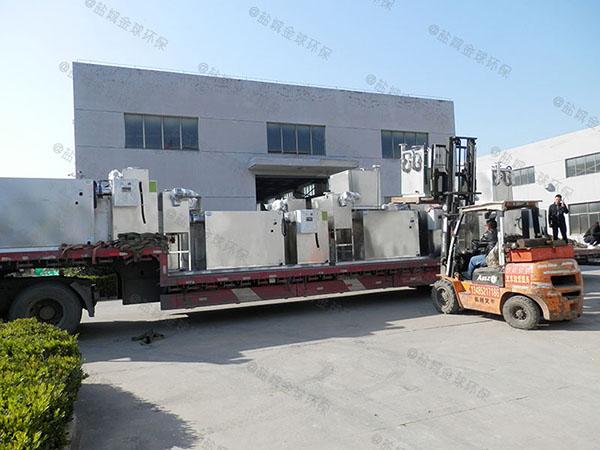 工地食堂8吨的长宽高智能型一体化隔油装置技术说明