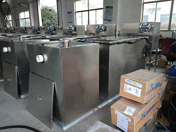 购物中心30立方组合式一体式隔油设备过程及相关设备