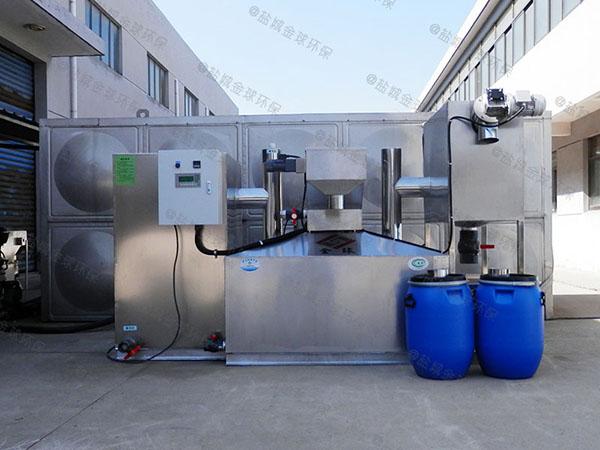 饭堂甲型智能油水分离机设备设计图