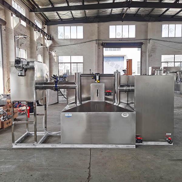 单位食堂2.8米*1.2米*1.75米自动化油水分离及过滤装置使用方法及注意事项
