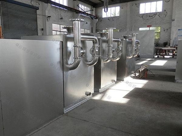 购物中心1000人自动刮油油水分离处理装置批发厂家