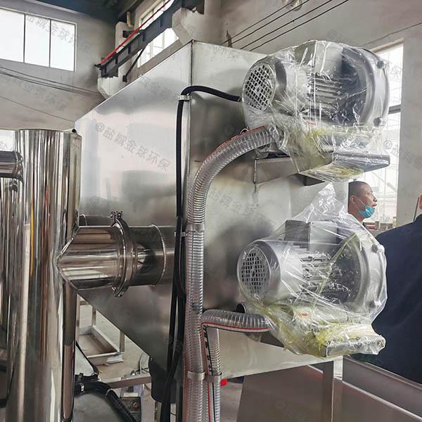 厨余8吨的长宽高自动刮油一体式隔油池技术说明