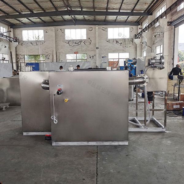 工程30立方自动刮油一体式隔油提升设备双杯加什么油