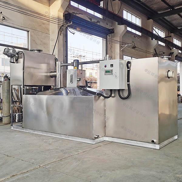 工地8吨的长宽高自动排水油水分离处理机器使用图