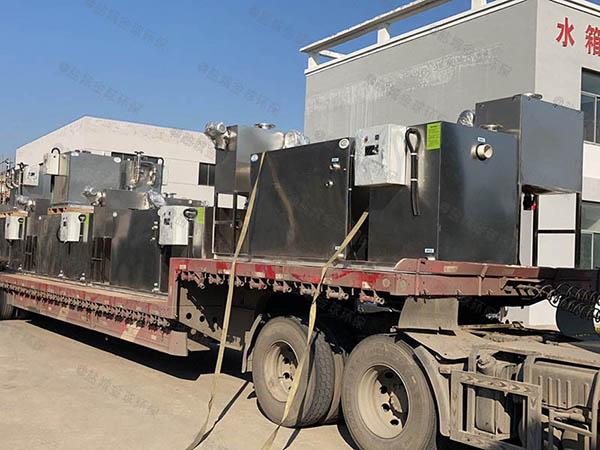 工地1000人自动排水油水分离过滤设备油和水怎么处理