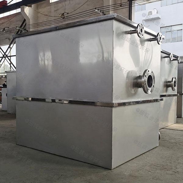 工地2号自动化油水分离隔油池组成