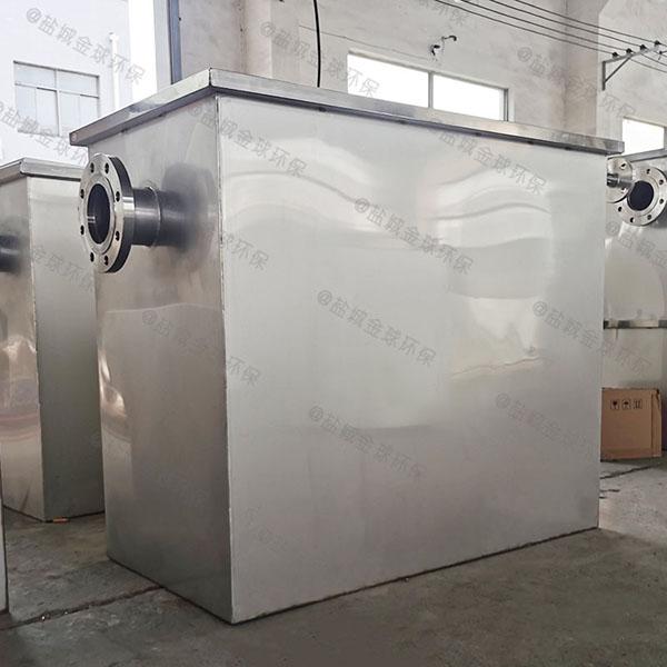 工程1000人组合式油水分离处理装备双杯加什么油