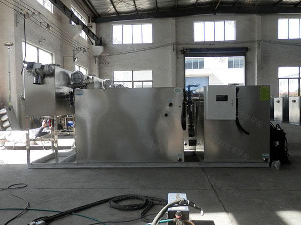 饭堂8吨的长宽高组合式油水分离隔油器的作用及特点