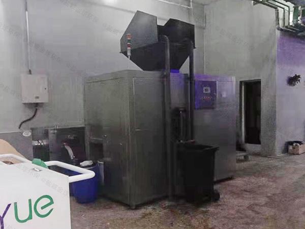 日处理10吨机械式餐饮垃圾处理设备检测报告