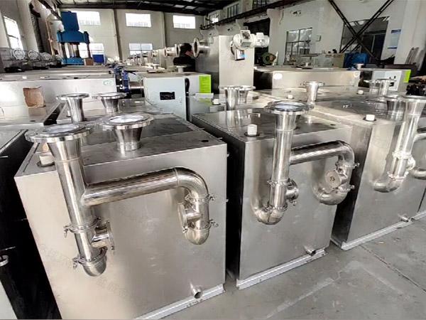 火锅密闭式自动除渣隔油污水提升设备是什么样子