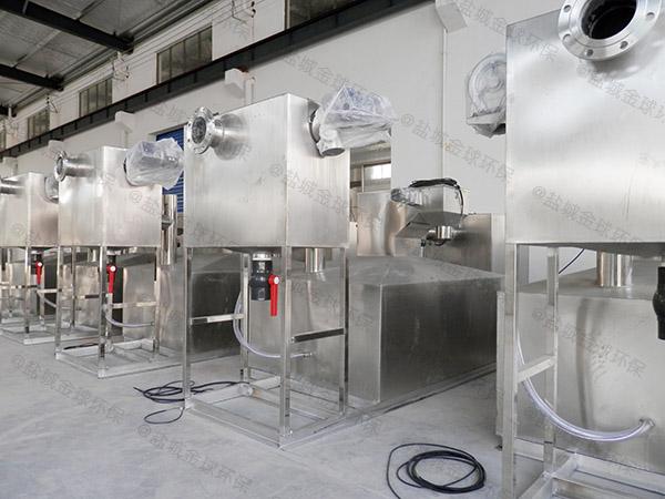 工地食堂中小型智能隔油设施是什么样子的