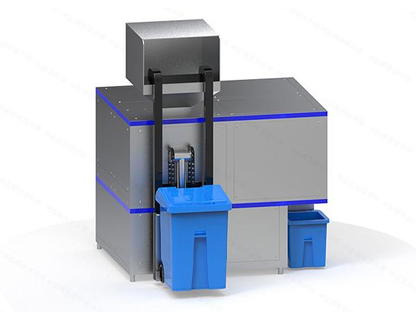 大小型自动上料餐厨垃圾减量处理机器生产工艺流程